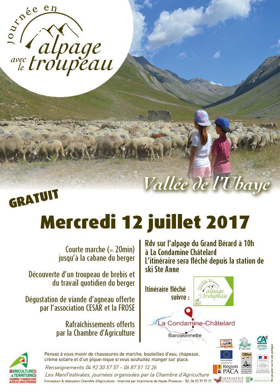 04 journ e en alpage dans la vall e de l 39 ubaye - Chambre d agriculture des alpes maritimes ...