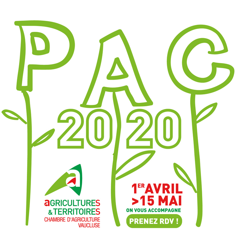 D claration pac 2020 chambres d 39 agriculture provence - Chambre agriculture alpes maritimes ...